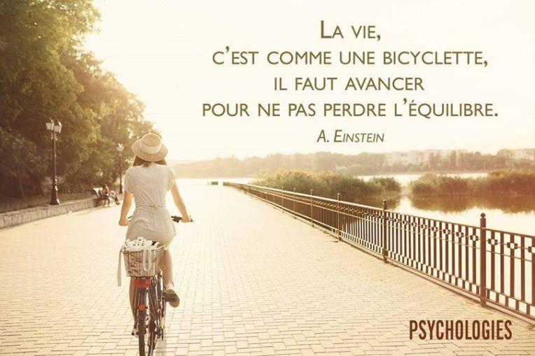 LAVIE C'EST COMME UNE BICYCLETTE