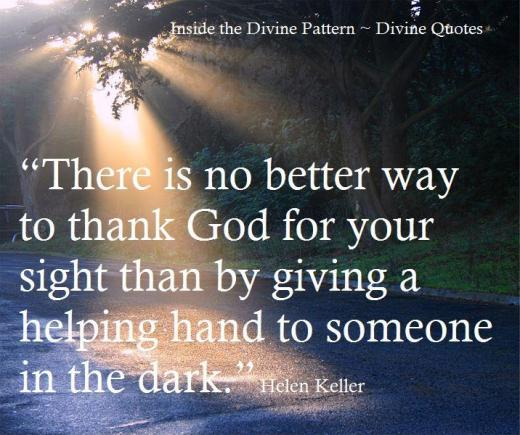 There is no better way to thank God...