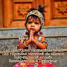 LES QUESTIONS VIENNENT DU BRUIT...LES REPONSES VIENNENT DU SILENCE