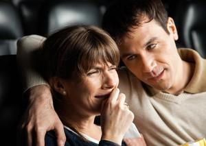 Vous êtes émotionnellement plus fort si vous pleurez devant lesfilms…