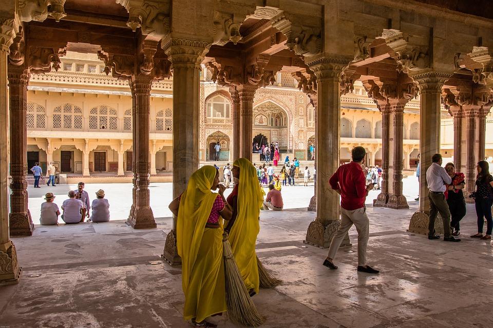 India-Jaipur-Fort-Amber-Forteresse-Antique
