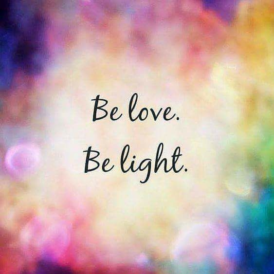BE LOVE BE LIGHT