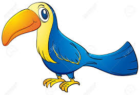 Blue Clipart Toucan