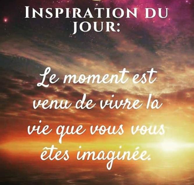INSPIRATION DU JOUR 2