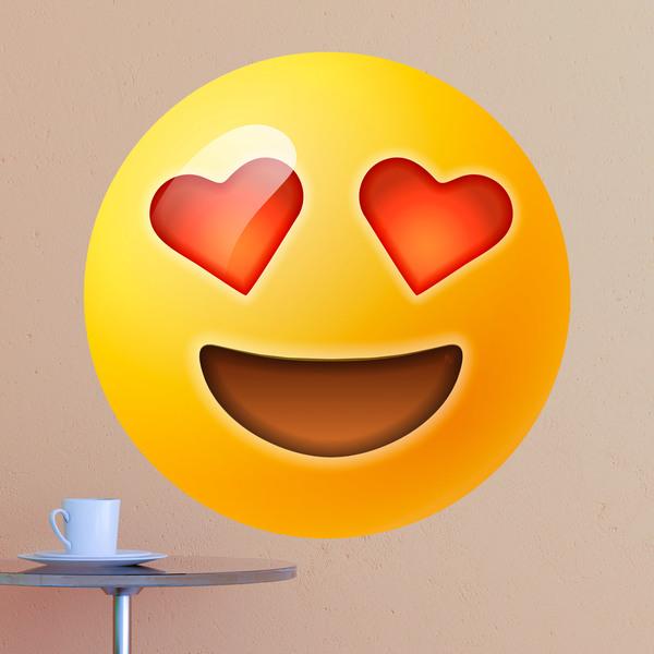 stickers-muraux-sourire-visage-aux-yeux-en-forme-de-coeur