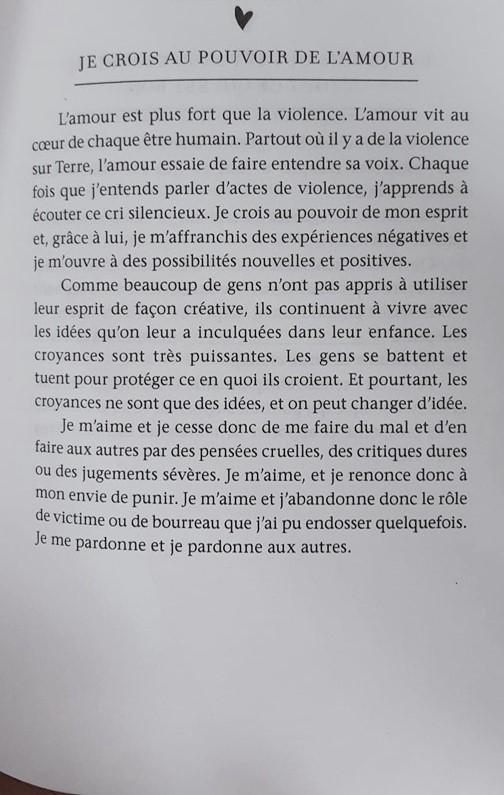 JE CROIS AU POUVOIR DE L'AMOUR (2)