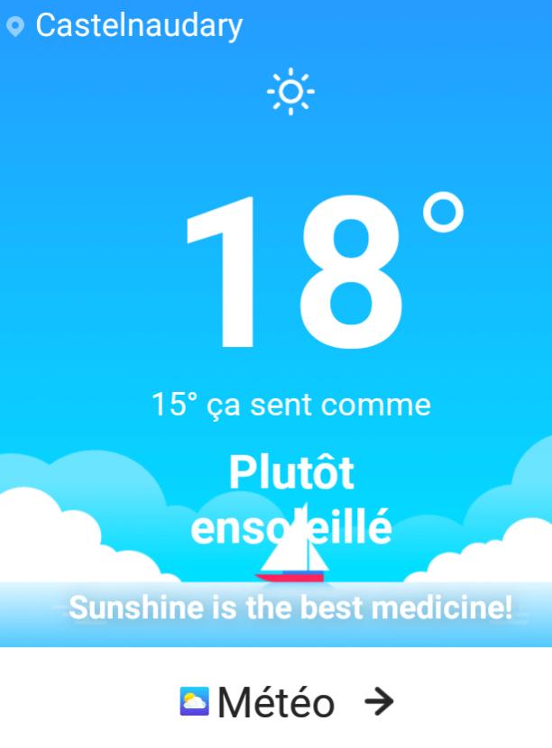 Le soleil est le meilleur des remèdes