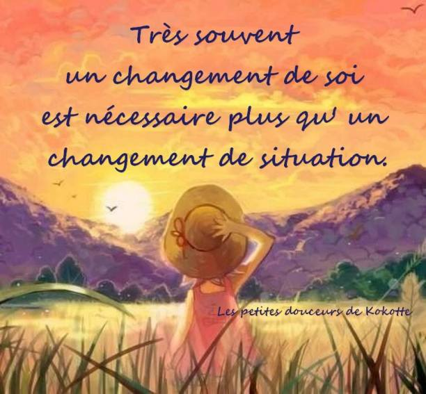 CITATION CHANGEMENT DE SOI